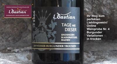 Vorstellung Online Weinprobe
